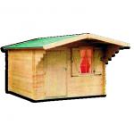 Kis kerti faház szerszámtároló